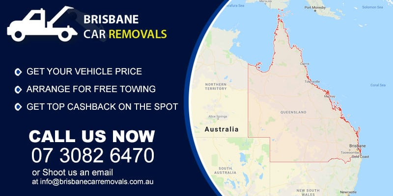 brisbane car removals Locations Served
